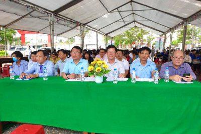 Tham gia sàn Giao dịch việc làm phiên thứ nhất tại Bình Sơn
